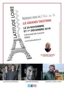 AFFICHE LATITUDE LOIRE - Domaine Luneau Papin