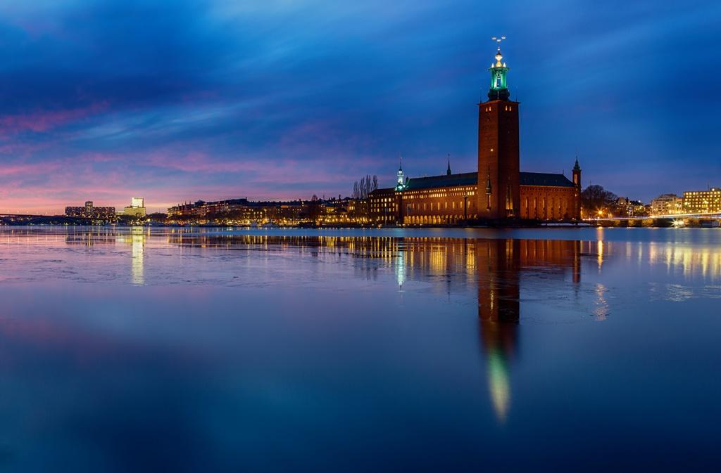 Hotel de ville Stockholm Prix Nobel Luneau Papin - Domaine Luneau Papin