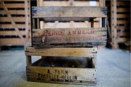 caisses vins - Domaine Luneau Papin