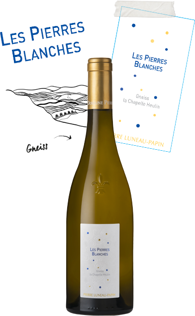 cuvee pierres blanches - Domaine Luneau Papin